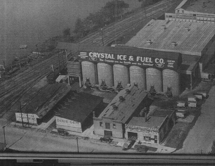 Crystal Ice & Fuel Co. Historic Photo